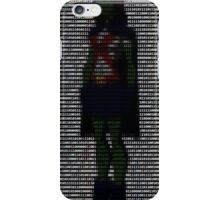 Miss Martian - Young Justice, Colored Binary Code iPhone Case/Skin