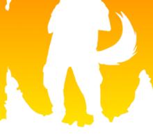 MOG The Bounty Hunter Sticker