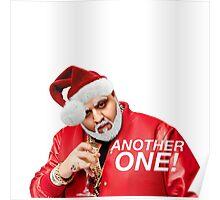 DJ Khaled Santa (variations available) Poster