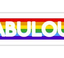 Fabulous. Sticker