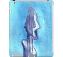 Torn by the blue sky  iPad Case/Skin
