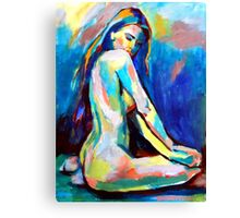 """Belle"" Canvas Print"