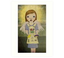 Industrial Angel Art Print