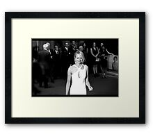 Naomi Watts Framed Print