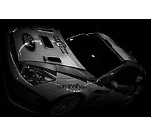 Rally Car Photographic Print