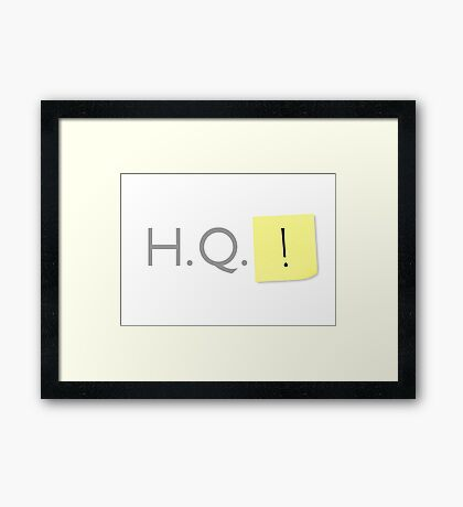Headquarters! Framed Print