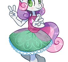 My Little Pony Friendship Is Magic - Sweetie Belle by Hektious