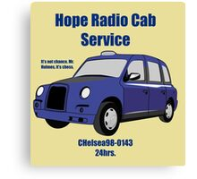 Hope Cab - Sherlock Study in Pink Canvas Print