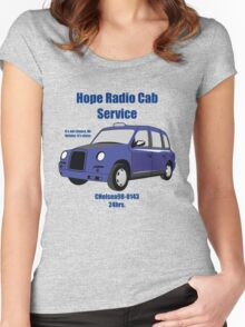 Hope Cab - Sherlock Study in Pink Women's Fitted Scoop T-Shirt