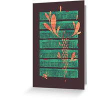 Power Chord Greeting Card