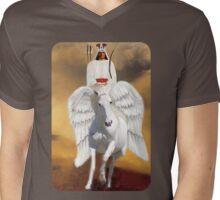๑۩۞۩๑ THE RIDER ON THE WHITE HORSE TEE SHIRT ๑۩۞۩๑  Mens V-Neck T-Shirt