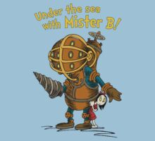 Under the sea with Mr. B by FullBlownShirts