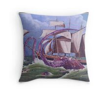 The Ink Hunters Throw Pillow