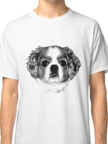 Cocker Spaniel Puppy Engraving Classic T-Shirt