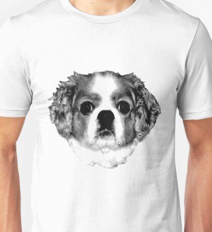Cocker Spaniel Puppy Engraving Unisex T-Shirt