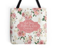 Let Your Brotherly Love Continue Design no. 10 Tote Bag