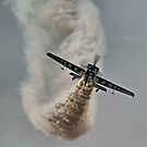 Is This Enough Smoke ?? - Gerald Cooper - Dunsfold 2013 by Colin J Williams Photography