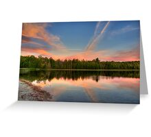 Delightful Dusk Greeting Card