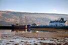 Loch Fyne & the Pier at Inverary by Christine Smith