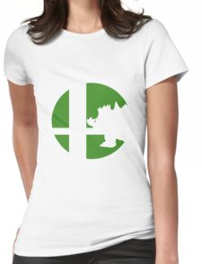 Bowser - Super Smash Bros. Womens Fitted T-Shirt