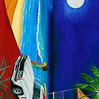 Surf Shack by Gerard Kearney