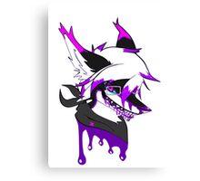 IBleedPurple Canvas Print
