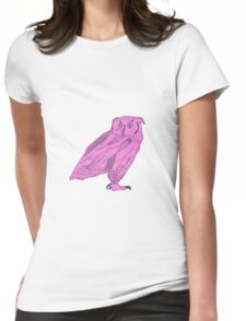 Owl I Ever Wanted Womens Fitted T-Shirt