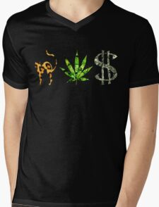Vices Mens V-Neck T-Shirt