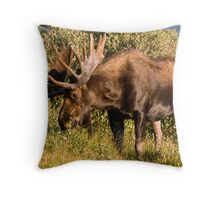Munching Throw Pillow