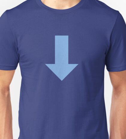 Avatar Arrow Blue Unisex T-Shirt