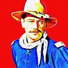 John Wayne in Rio Grande by Art Cinema Gallery