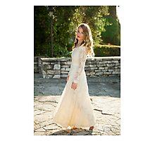 Vintage Wedding Dress Photographic Print
