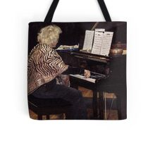 The Jazz Pianist 1 Tote Bag