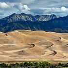 Great Sand Dunes - Morning Sun by Stephen Beattie