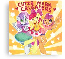 My Little Pony Friendship Is Magic - Cutie Mark Crusaders Canvas Print