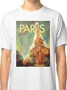 Paris: Eiffel Tower Classic T-Shirt