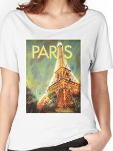 Paris: Eiffel Tower Women's Relaxed Fit T-Shirt