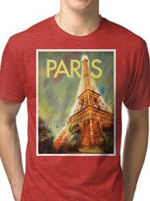 Paris: Eiffel Tower Tri-blend T-Shirt