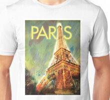 Paris: Eiffel Tower Unisex T-Shirt