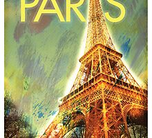 Paris: Eiffel Tower by Chris Hopkins