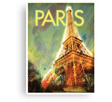Paris: Eiffel Tower Canvas Print