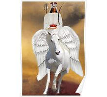 ๑۩۞۩๑ THE RIDER ON THE WHITE HORSE PICTURE/CARD ๑۩۞۩๑  Poster
