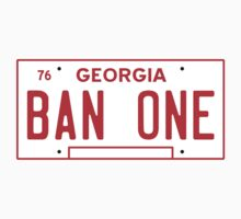 Bandit BAN ONE Georgia License Plate by TRStrickland