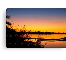 Blending into peacefulness Canvas Print