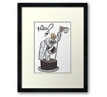 Miley Cyrus T Shirt - Twerking At The VMA Awards Framed Print
