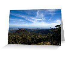 Euglah Rock, Mt Kaputer Greeting Card