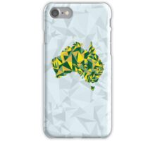 Abstract Australia Wattle Gold iPhone Case/Skin