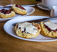 clotted cream by Anne Scantlebury