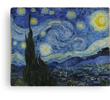 Starry Night (Huge) Canvas Print