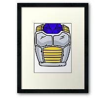 Vegeta Armor Framed Print